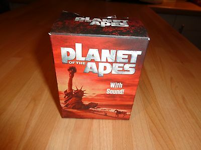 Vintage Planet Of The Apes Miniature Book With Sound,running Press Statue Libert