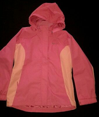 girls peach Mountain Warehouse  outdoor jacket age 13 years