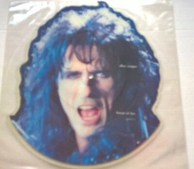 "ALICE COOPER - House of fire - Shaped Picture Disc 7"" Vinyl"