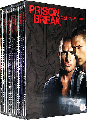 Prison Break The Complete Series Seasons 1 2 3 4 DVD Box Set Collection New