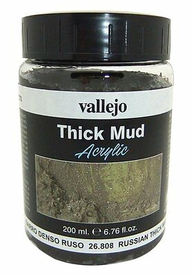 Vallejo Paints: Weathering Effects: Russian Thick Mud (200ml)