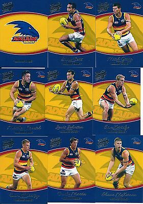 Select Honours 2014 Adelaide Crows 12 Card Common Team Set