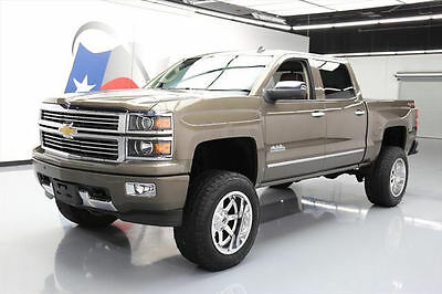 2014 Chevrolet Silverado 1500 High Country Crew Cab Pickup 4-Door 2014 CHEVY SILVERADO HIGH COUNTRY CREW 4X4 LIFTED 23K #420224 Texas Direct Auto
