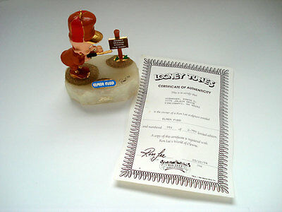 Elmer Fudd Limited Edition Sculpture ~ Signed And Numbered 1993