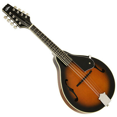 "New Aria Am-20 Brown Sunburst ""a"" Style Mandolin With Gig Bag"