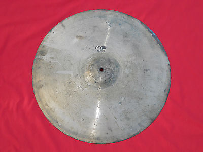 "Vintage Paiste 404 Black Stamp 20"" Ride Cymbal"