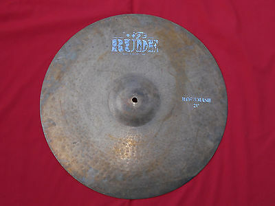 "Vintage Paiste Rude 21"" Ride Crash Cymbal Rare"