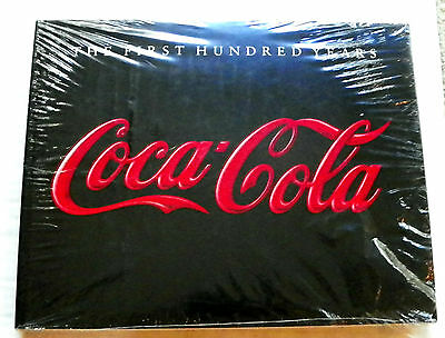 "1986 Original Ed. ""the First Hundred Years Coca-Cola"" By Anne Hoy Tabletop Book"