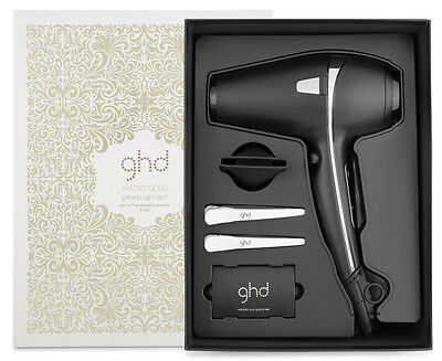 ghd ARCTIC HAIR DRYER Air Hairdryer & Nozzle & 2 Clips New in Box CHRISTMAS SALE