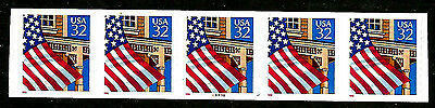 US #2915A ~ Plate #88898  // MNH Plate Number Coil Strip of 5 [PNC-5] ~ S-A