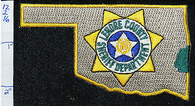 Oklahoma, Leflore County Sheriff Dept Patch