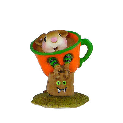 TINY TEACUP by Wee Forest Folk, WFF# M-541 Halloween Mouse