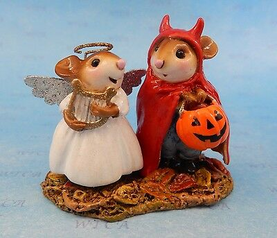 SWEET & SPICY TWOSOME by Wee Forest Folk, WFF# M-587, New Halloween Mouse 2016!