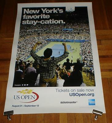 2015 Us Open Subway Poster Rare