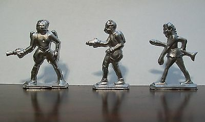 Buck Rogers-25th Century-Lead Toy Characters-Set of 3-From 1930's Mold