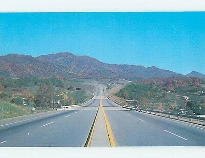 Pre-1980 INTERSTATE 40 ABSTRACT VIEW Around Asheville North Carolina NC hn2994