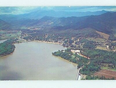 Pre-1980 WATER SCENE Waynesville North Carolina NC hk2242