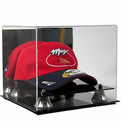 NEW Saf-T-Gard MLB BASEBALL CAP HAT DELUXE ACRYLIC DISPLAY CASE AD07