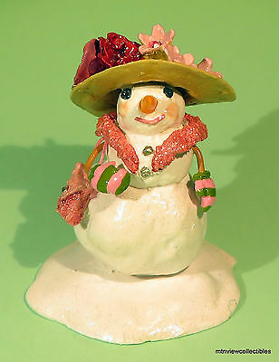 Wee Forest Folk A-23 Snowmom- Limited Edition -Retired in 2015