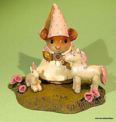 Wee Forest Folk M-392a Playing Princess-Limited Edition-Retired