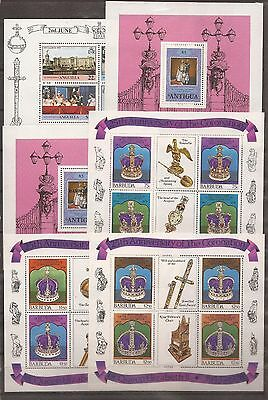 The 25th Anniversary of the Coronation of Queen Elizabeth - 1953/1978 -54 sheets