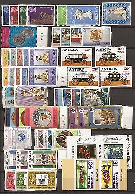 The 25th Anniversary of the Coronation of Queen Elizabeth - 1953/1978 -41 sets