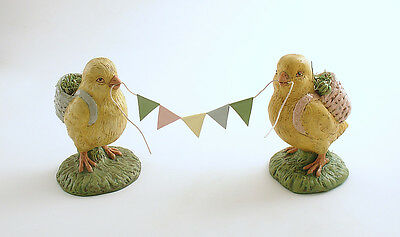 Easter Decoration Chicks Pennant Banner Bethany Lowe
