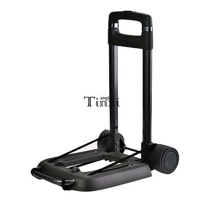 Folding 55KG Load Weight Hand Truck Dolly RED Luggage Folding Cart Portable