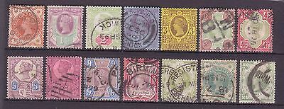SG197-214 Jubilee set of 14  Total  Cat  £400