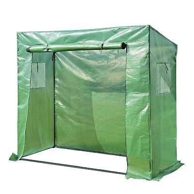"79"" x 30""  Portable Large Greenhouse Flower Vegetable Plant Warm Grow House Shed"