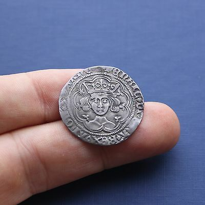 Hammered Silver Coin Henry 6th Groat Rosette Mascle Issue c 1430 AD