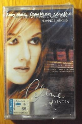 Celine Dion My Heart Will Go On Dance Mixes 5 Tracks Remixes Thai Cassette Seal