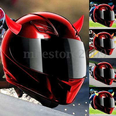 Motorcycle Rubber Helmet Accessories Suction Cups Helmet Horns Decor Muti-colors