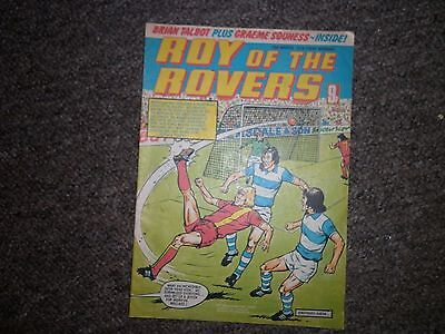 "Roy Of The Rovers 10th March 1979 Issue - ""Brian Talbot & Graeme Souness Inside"""