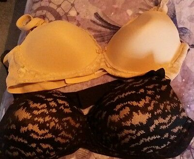 Pack of 2 Marks and Spencer no underwire bras ideal for pregnancy 38B