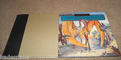 DINOTOPIA: The World Beneath - HC-DJ + Journey To Chandara - HC -James Gurney -