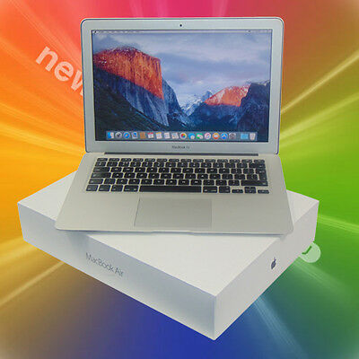 Apple MacBook Air 13 Mid 2011 A1369 Laptop i5 1.7GHz 128GB SSD El Capitan 4GB