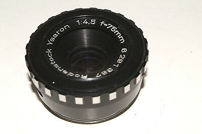 Rodenstock Ysaron f4.5 75mm  enlarging lens