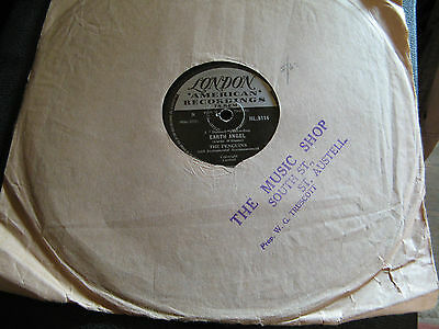THE PENGUINS..EARTH ANGEL 78rpm 1955..LONDON LABEL.