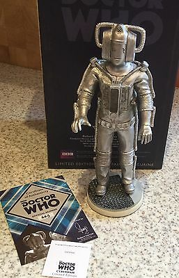 Robert Harrop Dr Who Ltd Edition - Cyberman - New In Box