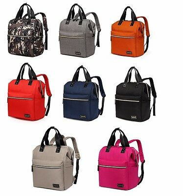 Large Multi-function Backpack Tote Baby Diaper Changing Nappy Bag+Changing Pad