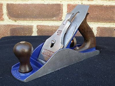 Vintage Record SS No 4 1/2 Extra Wide Smoothing Plane Woodworking Tool