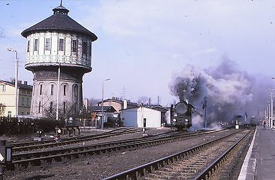 ORIGINAL 35mm RAILWAY SLIDE,  POLISH STEAM LOCO,  (Ref 5)