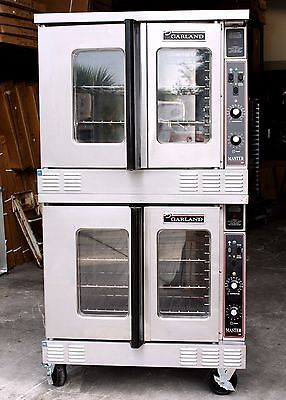 GARLAND Master 200 ELECTRIC DOUBLE COMMERCIAL CONVECTION OVENS Bakery  FULL SIZE