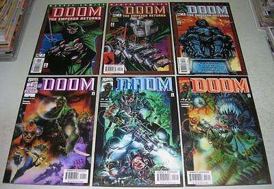 DOOM & EMPEROR RETURNS 1 2 3 COMPLETE SET (Marvel Comics) DR DOOM (FN+)