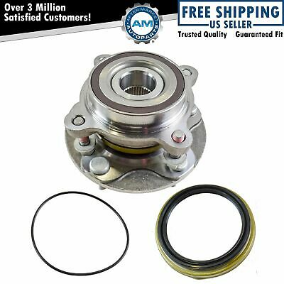 TRQ Front Wheel Bearing /& Hub Assembly Pair for Toyota Pickup Truck SUV