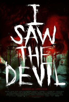 I Saw The Devil - original DS movie poster - D/S 27x40 style A