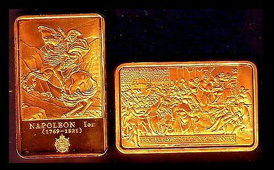 ● Gold Plated Bar ● France ● Napoleon : The First Legion D'honneur ●●