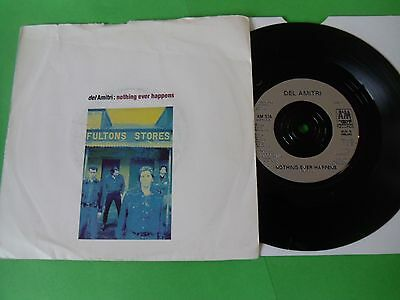 """Del Amitri - Nothing Ever Happens  7""""  90  Vg"""
