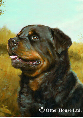 Large Indoor/Outdoor Portrait Flag - Rottweiler (JS) 50002